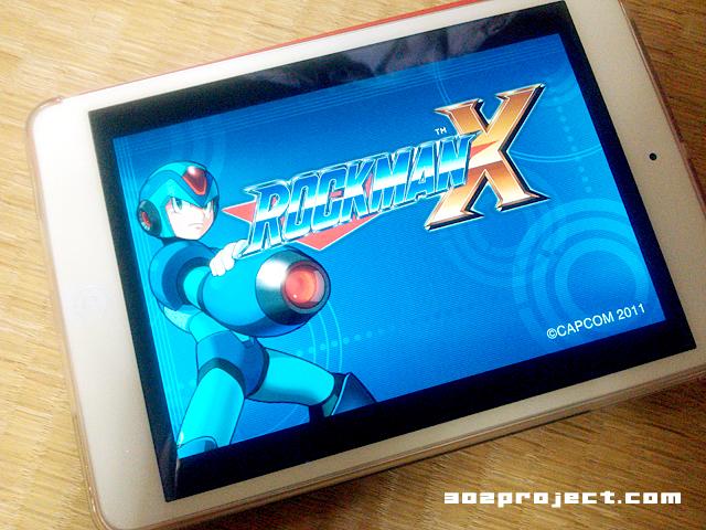 マジか!?「iPad mini」で「ロックマンX」とか絶対買うやろ!